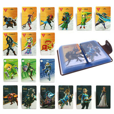 22 Full Set NFC PVC Tag Card ZELDA BREATH OF THE WILD WOLF LINK Gift Toy New