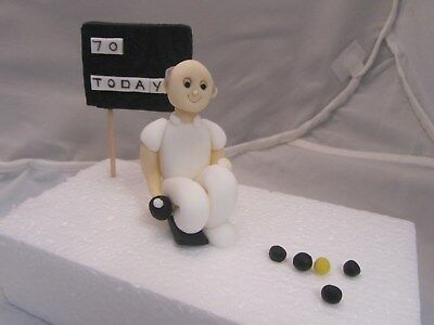 grandad dads shed,funny,edible figure novelty birthday cake topper dad