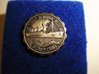 The Titanic Memorial Museum Vintage Lapel Pin