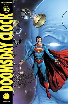 Doomsday Clock #1 Frank Variant Watchmen Dc Comics Near Mint 11/22/17
