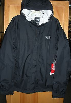 The North Face Mens Venture 2 Waterproof Jacket -#a8Ar- Black- S, M,l, Xl