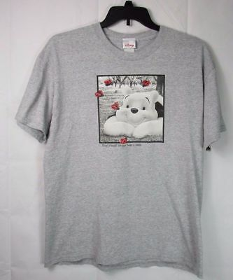 Disney Store Winnie the Pooh T-Shirt  Good Friends Always Bring A Smile Size MMM