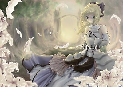 Anime - Fate/Stay Night  Saber Lily Playmat Mat
