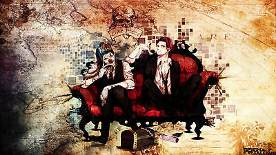 Anime - One Piece  Buggy (One Piece) Anime Shanks (One Piece) Playmat Mat