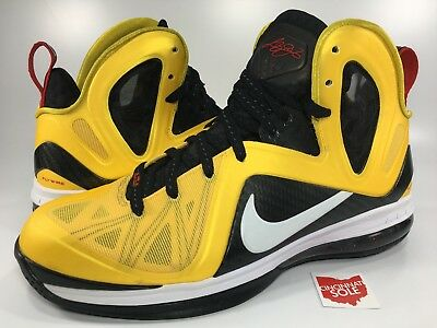 new arrival ef6f9 a4760 cheap nike lebron 9 taxi size 10 ps elite 516958 700 south beach 12 13 14