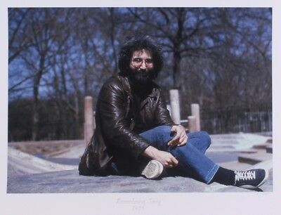 Jerry Garcia Grateful Dead Giclee Limited Edition 181/275 Hulton Archive COA