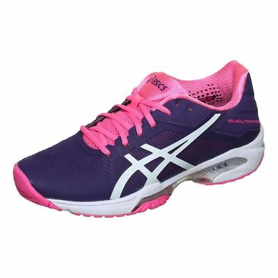 New Asics GEL-SOLUTION SPEED 3 CLAY Women's Tennis Shoes E651N 3301 PURPLE/PINK