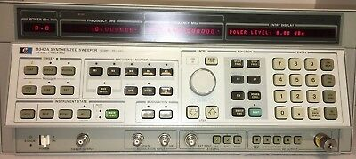 Agilent / HP 8340A Synthesized Sweep Signal Generator (10MHz to 26.GHz)
