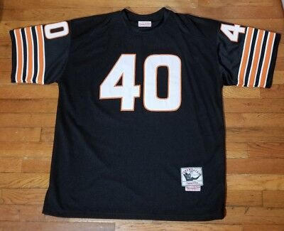 34b68850 Gale Sayers Chicago Bears Jersey Mitchell & Ness Sz 52 Football 2XL Sewn