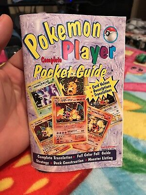 Pokemon Player Complete Pocket Guide. Late 90's?