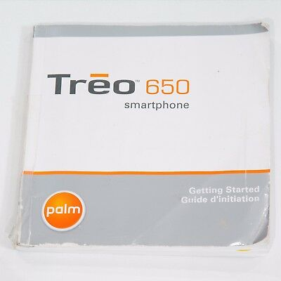 Getting Started guide for Treo 650 Smartphone