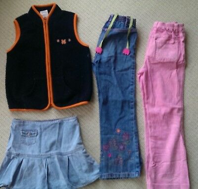 Girls Winter Clothing Bulk Size 6 Long Pants, Vest, Skirt