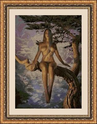 Kit De Punto De Cruz Panda, Cross Stitch Kit Desnudos Artisticos 31502