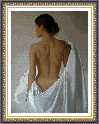 KIT DE PUNTO DE CRUZ PANDA, CROSS STITCH KIT Desnudos Artisitcos 2018