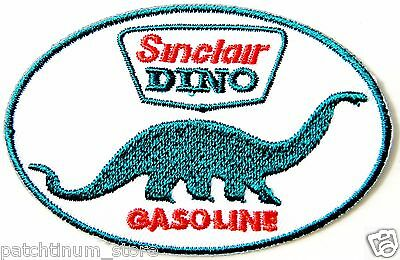 Sinclair DINO Gasoline Station Patch Applique Iron on Jacket T shirt Logo Sign