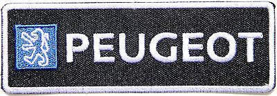 PEUGEOT Bicycle Car Logo Patch Iron on Embroidered Accessories Badge Sign Emblem