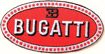 BUGATTI Logo Sign Patch Iron on Jacket T shirt Backpack Emblem Badge Accessories