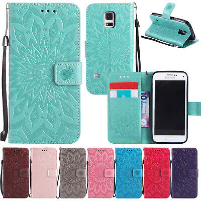 For Samsung S10 5G S8 S9 A8 2018 Magnetic Flip Leather Wallet Stand Case Cover