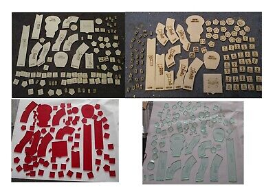 Gasland Templates And Tokens Templates In Wood Or White Colour Acrylic