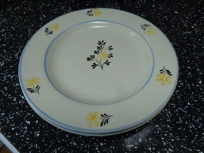 Laura Ashley Salad Plates X 2 - Hand Painted