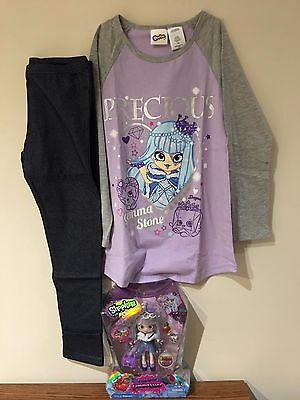 Gemma Stone Shopkins Shoppies Doll and Pajamas size 7/8 Special Edition