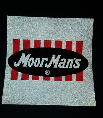New MOOR MAN's Feed Reflective Decal