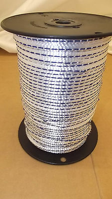 """1/4"""" x 1000'  400# tensile polyester detectable pull tape, mule tape, webbing"""