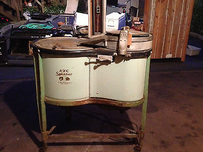 1930's ABC Spinner Washing Machine - Antique Washing Machine - Vintage