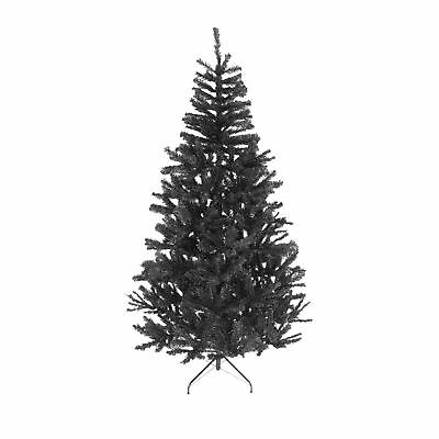 4ft- Black Christmas Tree Imperial 230 Tips Artificial Tree with Metal Stand