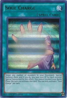 Soul Charge DUSA-EN092 Ultra Rare NM Yugioh