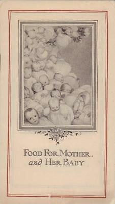 1910 c. IMPERIAL GRANUM Food for Mother and Her Baby Advertising Booklet