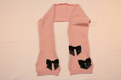 """Kate Spade """"Bow"""" Wool Scarf *NEW* pink"""