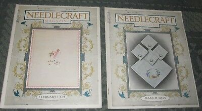2 February 1924 And March 1924 Publications - Needlecraft