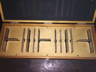 Sonaspection Flawed Specimen Set 10 test pieces NDT/NDE