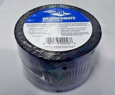1X   Dow Weathermate Construction Tape  2-7/8 X 55 yds  SAME DAY SHIPPING.!