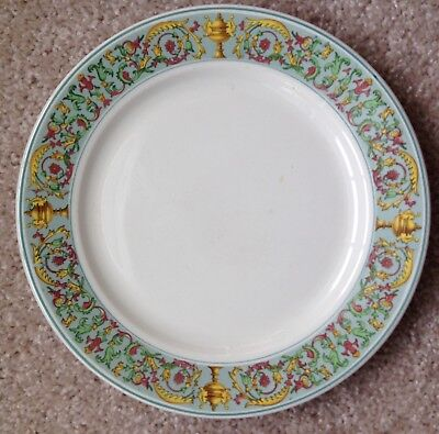 1920s - 1930s UNITED STATES LINES SHIP MANHATTAN PATTERN RESTAURANT WARE PLATE