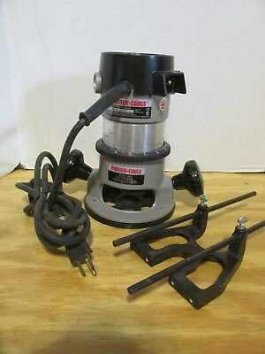 Porter-Cable Heavy Duty Router Motor 6902 & Base 1001  Nice! LQQK!
