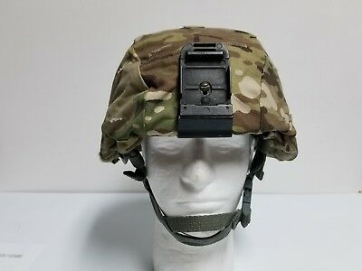 Mich ACH Helmet w/ Multicam Cover MSA Army Helmet Size Large