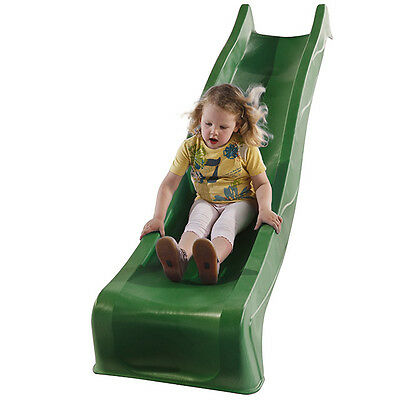 2.28m GREEN Playground Slide Cubby House Accessories Play Equipment Kids Slides