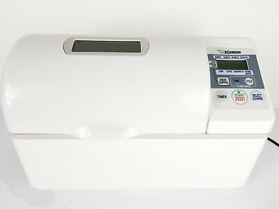 Zojirushi BBCC-V20 Bread Maker Home Bakery Double Paddle 2 LB Loaf - Tested