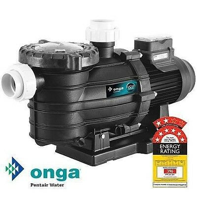 Onga SuperFlo eco 800 Energy Efficient Pool Pump. Warranty 7 Star Rated variable