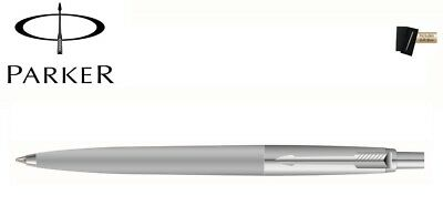 Parker Jotter Standard Ball Pen Grey Barrel Chrome Trim New with Gift Box