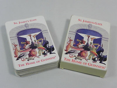 Guinness Playing Cards St. James Gate The Home Of Guinness Belgium