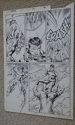 Punisher #13 pg. 25 Original Comic Art by Whilce Portacio Scott Williams