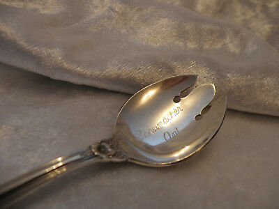Sterling Silver Souvenir Spork Schumacher Ontario Excellent Condition Rare Item