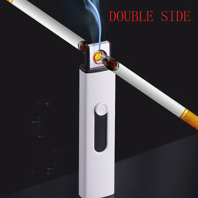 USB Electric Battery Rechargeable Flameless Cigar Cigarette Lighter  Windproof