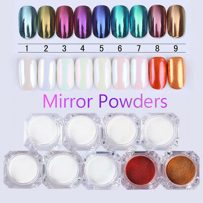 BORN PRETTY Mirror Nail Glitter Powder Nail Art Chrome Pigment  Pigment