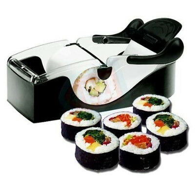 Perfect Roll Sushi Maker Maquina rodillo de facil preparacion sirviendo Gadget