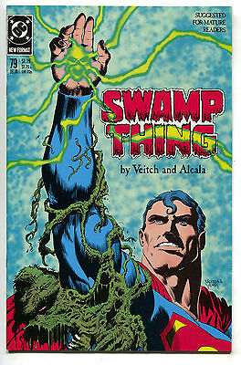 Swamp Thing 79 DC 1988 NM Superman Lex Luthor Rick Veitch