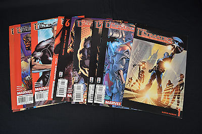 Ultimates 1st Series Lot 10 Bks 1 2 3 5 6 7 8 9 10 11 FN NM Avengers